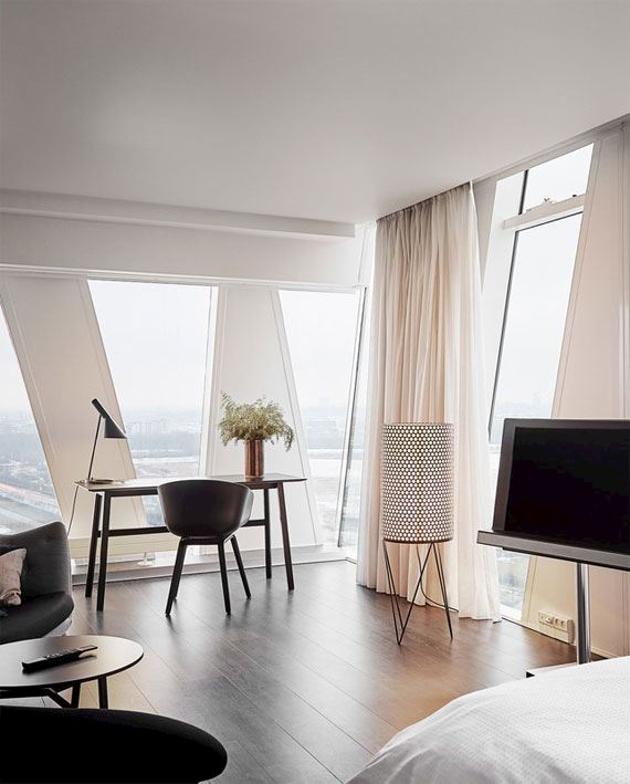 AC Hotel Bella Sky - værelse med udsigt